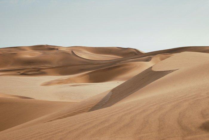 10 тонн песка необходимо для производства цемента (Фото: unsplash.com).