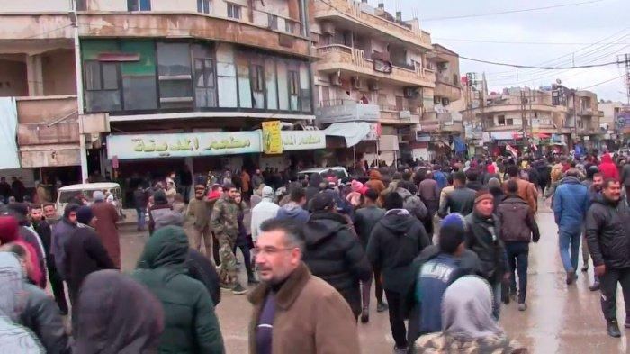 Жители Идлиба выступили против оккупации боевиками.