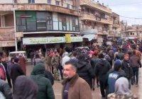 Жители Идлиба вступили в столкновение с боевиками