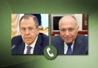 Лавров обсудил с главой МИД Египта содействие нормализации в Ливии