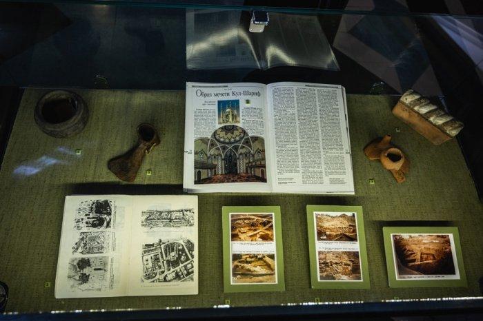 В мечети «Кул Шариф» открылась выставка к 25-летию начала ее строительства (Фото)