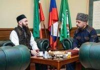 Камиль Самигуллин встретился с заммуфтия Дагестана Ахмадом хаджи Кахаевым