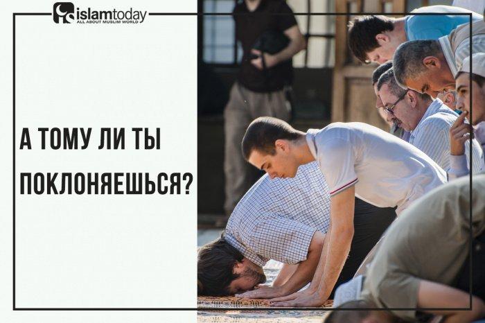 А тому ли ты поклоняешься? (Источник фото: shutterstock.com)