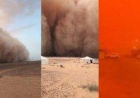 В странах Персидского залива – сильнейшая песчаная буря