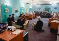 В уруссинском медресе прошел открытый урок о Ризе Фахретдине