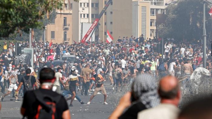 В Ливане возобновились уличные протесты. Фото: yandex.ru.