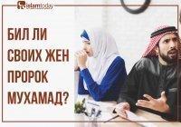 Бил ли своих жён Пророк Мухаммад ﷺ?