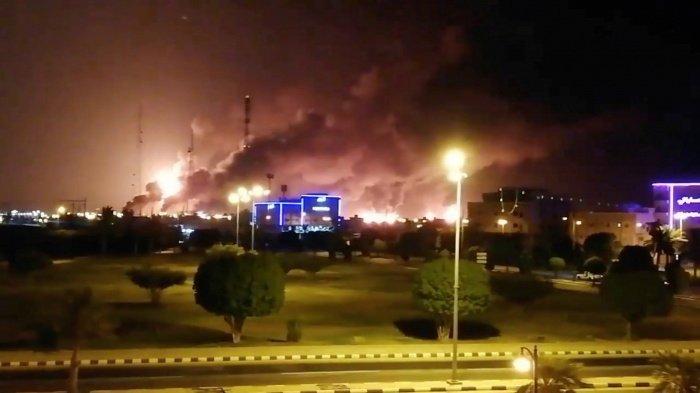 Саудовские нефтяные объекты атакованы хуситами.