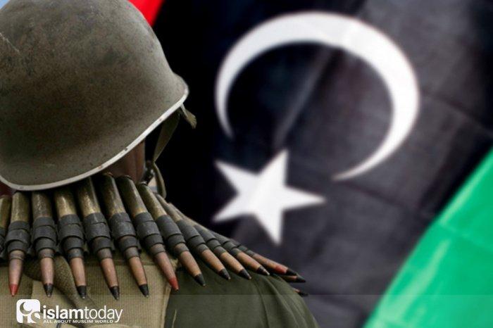 Уничтожение Ливии Западом (Источник фото: yandex.ru).