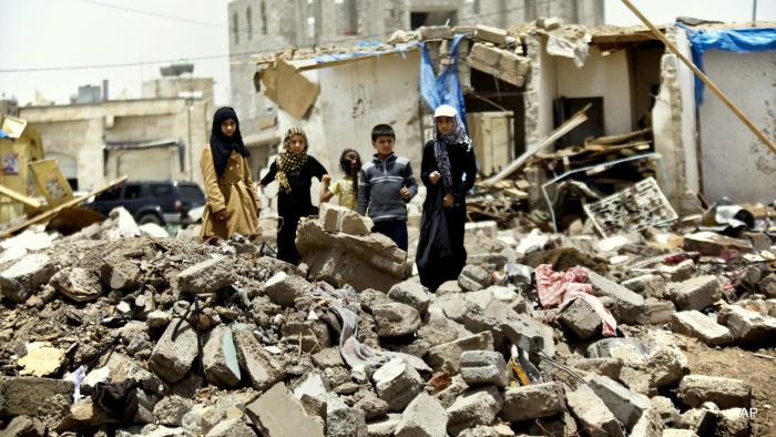 Война в Йемене продолжается с 2014 года. (Фото: yandex.ru).