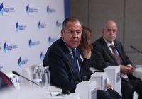 Лавров выступит на Ближневосточной конференции клуба «Валдай»