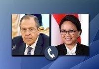 Главы МИД России и Индонезии обсудили ситуацию в Мьянме