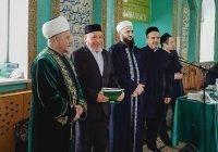 Муфтий вручил дипломы выпускникам медресе  в Балтасях