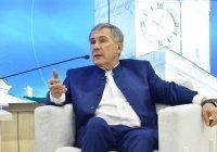 Минниханов: татары из регионов вносят огромный вклад в сохранение родного языка