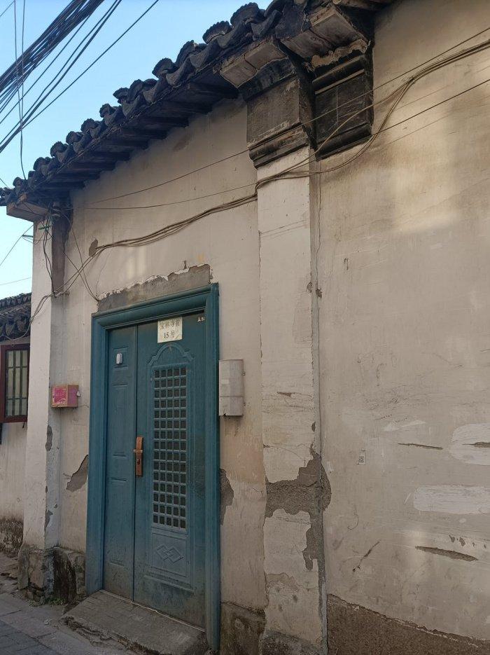 Вход в бывшую женскую мечеть Баолиньцянь. (Автор фото: Алессандра Каппеллетти).