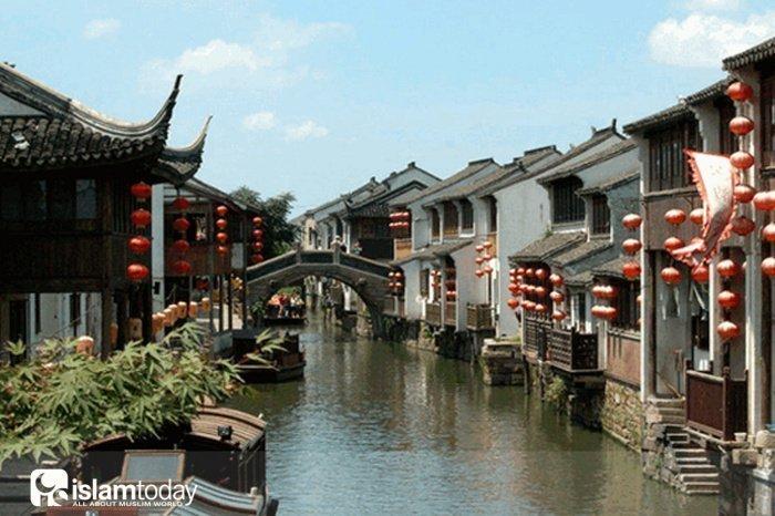 Старинный канал. Сучжоу (Источник фото: google.com).