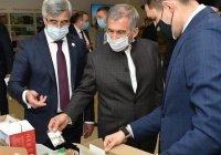 Рустаму Минниханову представили халяльный сухпаек