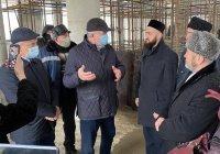 Муфтий РТ осмотрел строительство соборной мечети Челнов