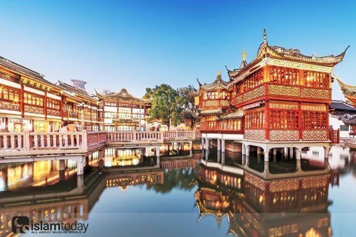 Город, который был одним из центров китайского ислама (Источник фото: yandex.ru).