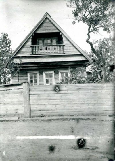 Дом муллы. Деревня Атня (Источник фото: фонды Национального музея РТ).