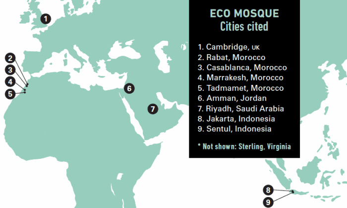 Мечети Иордании: как солнечные панели помогли достучаться до людей