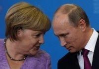 Путин и Меркель обсудили помощь Сирии