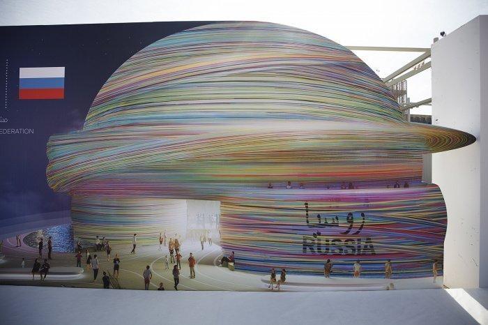 Проект российского павильона на «Экспо-2020». (Фото: yandex.ru).