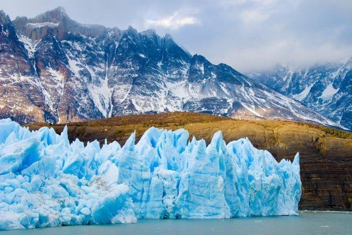 В прошлом году произошло разрушение ледника Ларсен (Фото: unsplash.com).