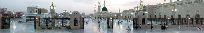 Мечеть Пророка (с.а.с.) в Медине (Источник фото: wikipedia.org).