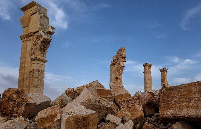 Уникальный памятник был разрушен в 2015 году. (Фото: yandex.ru).