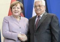 Аббас обсудил предстоящие в Палестине выборы с Меркель