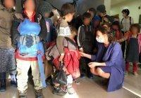44 ребенка доставлены из Сирии в Россию самолетом Минобороны