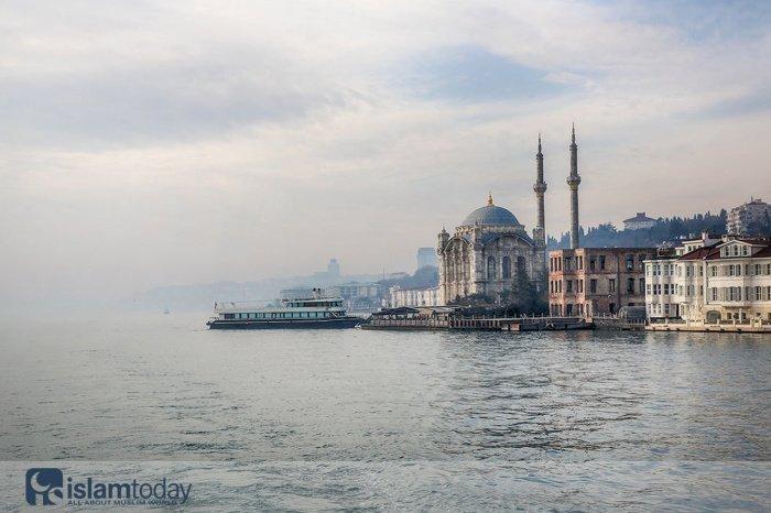 Стамбульский канал (Источник фото: yandex.ru).