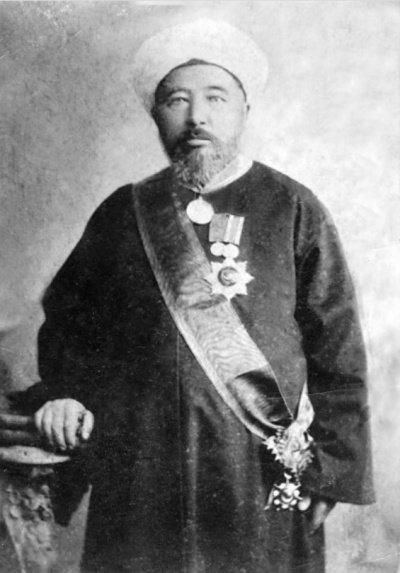 Руководитель медресе «Нурия» ахун ишан Нургали бин Хасан аль-Буави, начало XX в.