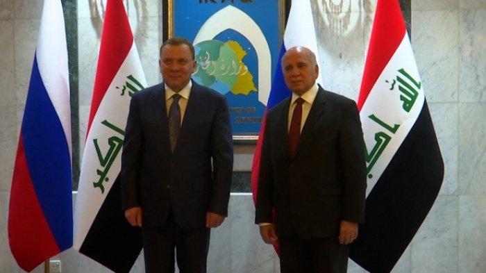 Вице-премьер России (слева) провел переговоры с руководством Ирака. (Фото: yandex.ru).