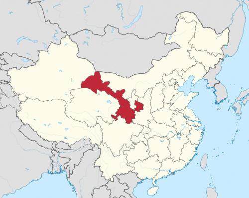 Провинция Ганьсу (Китай.svg).
