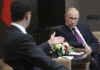 Путин провел телефонный разговор с Башаром Асадом