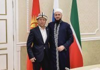 Камиль Самигуллин встретился с и.о. муфтия Кыргызстана