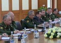 Россия и Узбекистан подписали программу военного партнерства