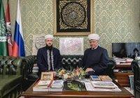 Муфтий РТ встретился в Москве с Альбиром хазратом Кргановым