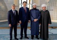 Муфтий РТ встретился с премьер-министром Кыргызской Республики