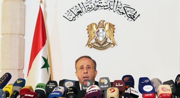 Мохаммад Ляхам на пресс-конференции. (Фото: google.com).