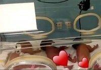 Жительница Мали родила сразу девять детей