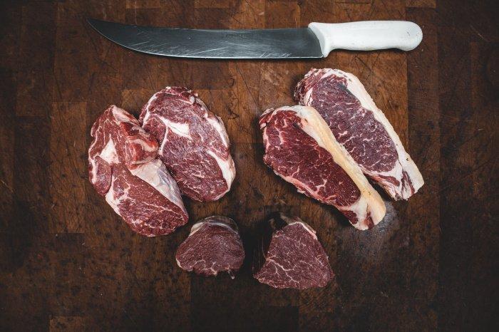 В говядине оптимальный набор аминокислот (Фото: unsplash.com).