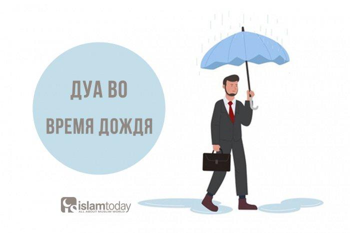 Зикры во время дождя (Источник фото: freepik.com).