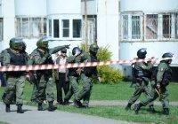 Второй нападавший на школу в Казани ликвидирован (Фото)