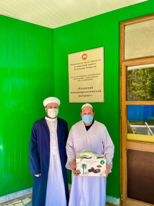 Мусульманские активисты рассказали об исламе подопечным психоневрологического интерната
