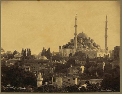 Илл.1 Вид на Мечеть Фатих (XIX в.) (Источник фото: camisupurgeleri.com).