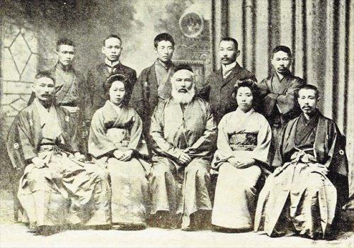 Абдурашид хазрат Ибрагимов с японцами