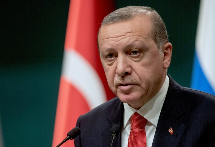 Реджеп Тайип Эрдоган. (Фото: © РИА Новости/Сергей Гунеев).
